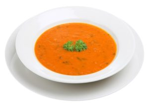 Tomato Soup with umami seasoning
