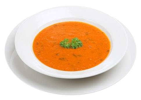 Tomato Soup with umami seasoning
