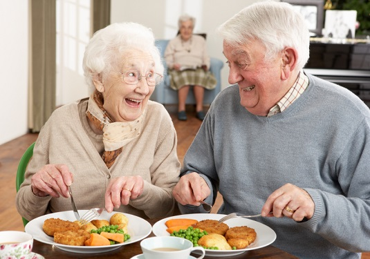 Senior Couple Enjoying Umami Recipes