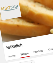 MSGdish Channel on YouTube